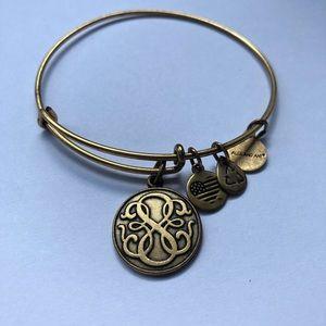 Alex and Ani Infinity Charm Bracelet